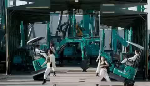 媒体聚焦:快来看央视镜头下会跳舞的山河智能挖掘机